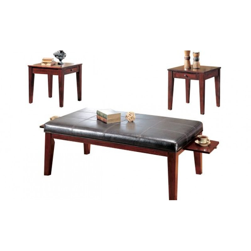 Jennings Cherry Coffee Table Set